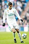 Real Madrid's Raphael Varane during La Liga match. February 24,2018. (ALTERPHOTOS/Acero)