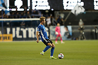 SAN JOSE, CA - MAY 12: Jackson Yueill #14 of the San Jose Earthquakes during a game between Seattle Sounders FC and San Jose Earthquakes at PayPal Park on May 12, 2021 in San Jose, California.