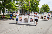Fallen Military Heros, Colors of Freedom Parade, 4th of July, Everett, WA, USA.