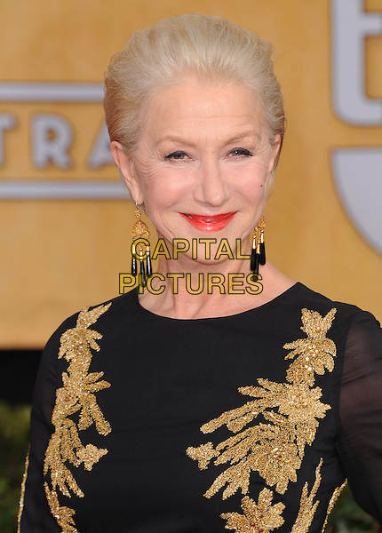 Dame Helen Mirren at the 20th Annual Screen Actors Guild Awards held at the  The Shrine Auditorium in Los Angeles, California on January 18th 2014.                                                                              <br /> CAP/DVS<br /> ©Debbie VanStory/Capital Pictures