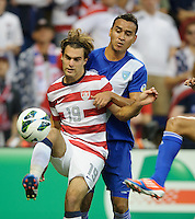 Kansas City, Kansas, October 16, 2012: The USA 3-1 over Guatemala at Livestrong Sporting Park in the semi-final round of 2014 FIFA World Cup Qualifying.