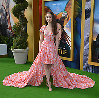 """LOS ANGELES, USA. January 11, 2020: Carmel Laniado at the premiere of """"Dolittle"""" at the Regency Village Theatre.<br /> Picture: Paul Smith/Featureflash"""