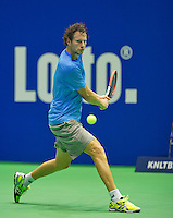 Rotterdam, Netherlands, December 19, 2015,  Topsport Centrum, Lotto NK Tennis, Jasper Smit (NED)<br /> Photo: Tennisimages/Henk Koster