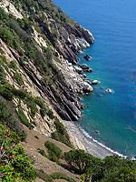 Küste bei Colle d'Orano, Elba, Region Toskana, Provinz Livorno, Italien, Europa<br /> Coast near Colle d'Orano, Elba, Region Tuscany, Province Livorno, Italy, Europe