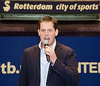 15-12-12, Rotterdam, Tennis Masters 2012, speaker