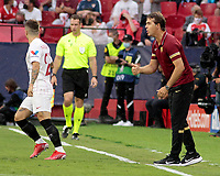 14th September 2021; Sevilla, Spain: UEFA Champions League football, Sevilla FC versus RB Salzburg; Julen Lopetegui manager of Sevilla