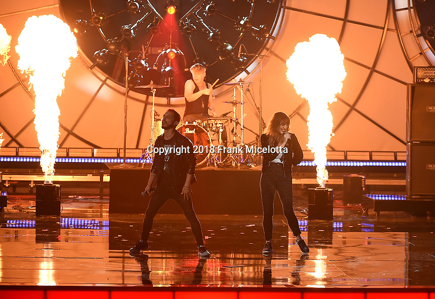 LOS ANGELES - DECEMBER 6: Devil May Cry performs onstage at the 2018 Game Awards at the Microsoft Theater on December 6, 2018 in Los Angeles, California. (Photo by Frank Micelotta/PictureGroup)