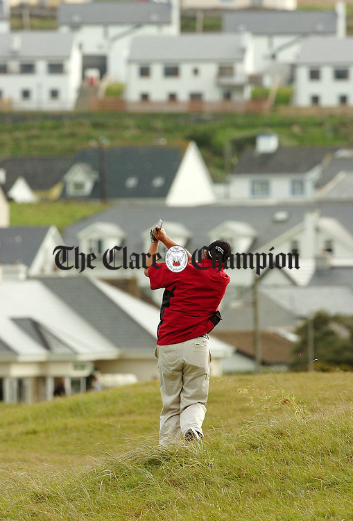 Lahinch Golf Club.Pic Arthur Ellis.