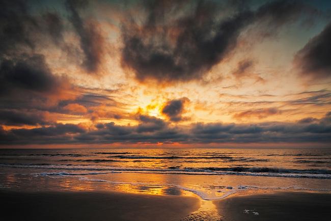 Sunrise on Hunting Island