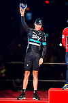 Christopher Froome, second position of La Vuelta a España 2016 in Madrid. September 11, Spain. 2016. (ALTERPHOTOS/BorjaB.Hojas)