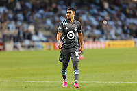 SAINT PAUL, MN - MAY 12: Emanuel Reynoso #10 of Minnesota United FC walks to take a corner kick during a game between Vancouver Whitecaps and Minnesota United FC at Allianz Field on May 12, 2021 in Saint Paul, Minnesota.