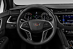 Car pictures of steering wheel view of a 2022 Cadillac XT5 Premium-Luxury-2.0L-FWD 5 Door suv Steering Wheel