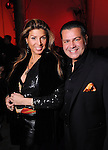 Claudia Jimenez and Luis Alonso at the Light as Air Fashion show with leather fashions by Jose Sanchez and performances by Vault with Choreography by Amy Eli at Vault Houston Saturday Jan.10, 2015.(Dave Rossman For the Chronicle)
