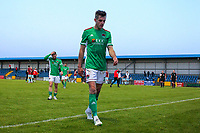 Jack Walsh of Cork City at full time.<br /> <br /> Cobh Ramblers v Cork City, SSE Airtricity League Division 1, 28/5/21, St. Colman's Park, Cobh.<br /> <br /> Copyright Steve Alfred 2021.