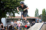 Pix: Shaun Flannery/shaunflanneryphotography.com...COPYRIGHT PICTURE>>SHAUN FLANNERY>01302-570814>>07778315553>>..3rd July 2011...........Area 51, Skate Jam, Anchorage Lane Skate Park..Jarrod Harborn