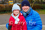 Enjoying a stroll in Tralee town park on Tuesday, l to r: Abbie Delaney and Liam Walsh