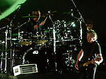 Nick Mason performing with Roger Waters Pink Floyd