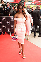 Oti Mabuse<br /> arriving for TRIC Awards 2018 at the Grosvenor House Hotel, London<br /> <br /> ©Ash Knotek  D3388  13/03/2018