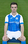 St Johnstone FC Season 2017-18 Photocall<br />Stefan Scougall<br />Picture by Graeme Hart.<br />Copyright Perthshire Picture Agency<br />Tel: 01738 623350  Mobile: 07990 594431