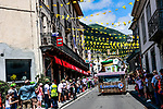 The publicity caravan before Stage 18 of the 2021 Tour de France, running 129.7km from Pau to Luz Ardiden, France. 15th July 2021.  <br /> Picture: A.S.O./Aurelien Vialatte   Cyclefile<br /> <br /> All photos usage must carry mandatory copyright credit (© Cyclefile   A.S.O./Aurelien Vialatte)