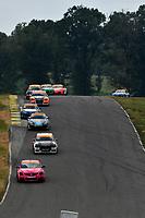 IMSA Continental Tire SportsCar Challenge<br /> Biscuitville Grand Prix<br /> Virginia International Raceway, Alton, VA USA<br /> Saturday 26 August 2017<br /> 44, Nissan, Altima, ST, Sarah Cattaneo, Owen Trinkler, 84, BMW, BMW 328i, James Clay, Tyler Cooke<br /> World Copyright: Scott R LePage<br /> LAT Images