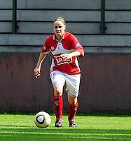RSC Anderlecht Dames - Standard Femina : Standard kampioen 2010 - 2011 : Riete Loos.foto DAVID CATRY / Vrouwenteam / Loft6