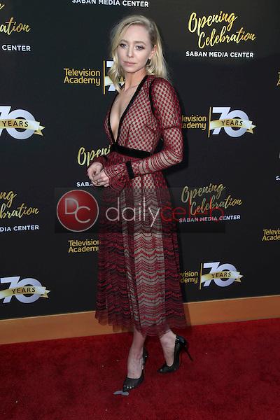 Portia Doubleday<br /> at the Television Academy's 70th Anniversary Celebration Gala, Television Academy, North Hollywood, CA 06-02-16<br /> David Edwards/Dailyceleb.com 818-249-4998