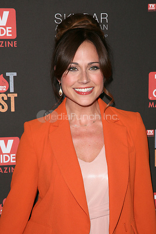 WEST HOLLYWOOD, CA - NOVEMBER 12:  Nikki Deloach at TV Guide Magazine's 2012 Hot List Party at SkyBar at the Mondrian Los Angeles on November 12, 2012 in West Hollywood, California. Credit: mpi21/MediaPunch Inc.