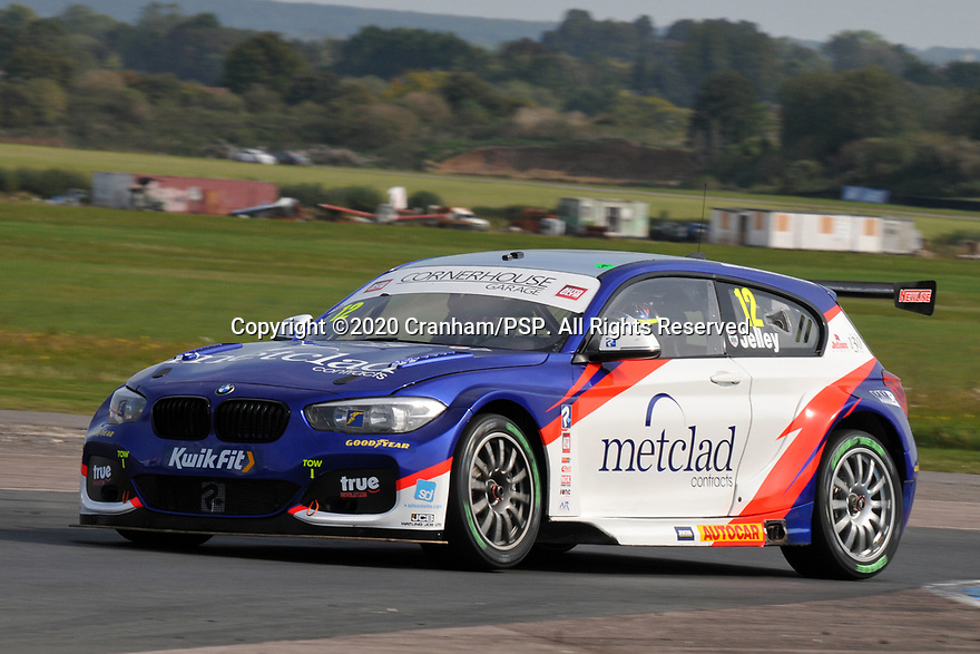 Round 5 of the 2020 British Touring Car Championship. #12 Stephen Jelley. Team Parker Racing. BMW 125i M Sport.