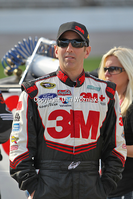 Sprint Cup Series driver Greg Biffle (16) in action during the Nascar Sprint Cup Series qualifying session at Texas Motor Speedway in Fort Worth,Texas.