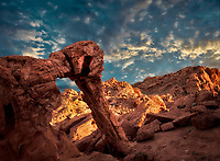 Elephant Rock. Valley of Fire State Park, Nevada