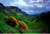 Tom Mackie, LANDSCAPES, LANDSCHAFTEN, PAISAJES, FOTO, photos,+6x7, cliff, cliffside, clouds, Eire, Europe, gorse, Ireland, Irish, medium format, mountain, valley,6x7, cliff, cliffside, cl+ouds, Eire, Europe, gorse, Ireland, Irish, medium format, mountain, valley+++,GBTM955378-1,#L#, EVERYDAY ,Ireland