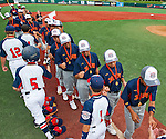 Players, coaches and host families celebrate Japan winning their third straight World Series Championship Game. Japan defeated West Raleigh, NC at the Cal Ripken World Series in Aberdeen, Maryland on August 18, 2013 by a score of 11-1 in five innings.