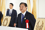 Toshiaki Endo, <br /> JANUARY 29, 2020 : <br /> Tokyo 2020 to Host Press Tour of Village Plaza in Athletes Village and Ceremony Inviting Municipalities Participating in Operation BATON, <br /> in Tokyo, Japan. <br /> (Photo by Naoki Morita/AFLO SPORT)