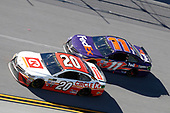 Monster Energy NASCAR Cup Series<br /> GEICO 500<br /> Talladega Superspeedway, Talladega, AL USA<br /> Sunday 7 May 2017<br /> Matt Kenseth, Joe Gibbs Racing, Circle K Toyota Camry Denny Hamlin, Joe Gibbs Racing, FedEx Express Toyota Camry<br /> World Copyright: Matthew T. Thacker<br /> LAT Images<br /> ref: Digital Image 17TAL1mt1394