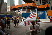 New  York, New York<br /> September 10, 2011<br /> <br /> Views near Ground Zero on the eve of the 10th anniversary of 9-11-2001.