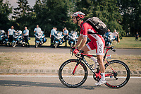 Anthony Turgis (FRA/Cofidis) riding to the nearby team hotel after the stage<br /> <br /> Stage 7: Fougères > Chartres (231km)<br /> <br /> 105th Tour de France 2018<br /> ©kramon