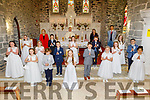 Ardfert  NS First Holy Communion class at their communion in Ardfert on Saturday.