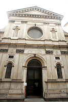 Veduta esterna della Chiesa di San Satiro a Milano.<br /> Exterior of the church of San Satiro in Milan.<br /> UPDATE IMAGES PRESS/Riccardo De Luca