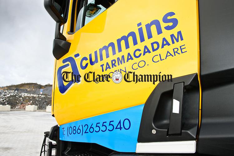 Cummins Tarmacadamadam equipment at Ryan's Quarry in Toonagh. Photograph by John Kelly.