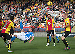Partick Thistle v St Johnstone…10.09.16..  Firhill  SPFL<br />Chris Kane's overhead kick goes just over<br />Picture by Graeme Hart.<br />Copyright Perthshire Picture Agency<br />Tel: 01738 623350  Mobile: 07990 594431