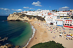 Portugal, Algarve, Carvoeiro: favoured holiday resort at the Algarve