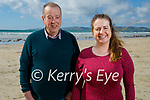 Enjoying a stroll in Banna on Sunday, l to r: Jimmy and Linda Brown.