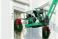 NOV 21 The White House Christmas decorations