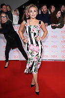 Tallia Storm<br /> arriving for the National Television Awards 2018 at the O2 Arena, Greenwich, London<br /> <br /> <br /> ©Ash Knotek  D3371  23/01/2018