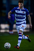 9th January 2021; Kenilworth Road, Luton, Bedfordshire, England; English FA Cup Football, Luton Town versus Reading; Oliver Pendlebury of Reading.