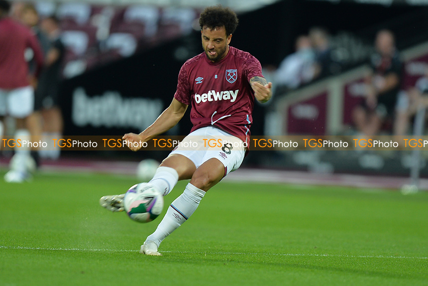 Felipe Anderson during West Ham United vs Charlton Athletic, Caraboa Cup Football at The London Stadium on 15th September 2020