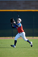 Alexander Leopard during the Under Armour All-America Tournament powered by Baseball Factory on January 18, 2020 at Sloan Park in Mesa, Arizona.  (Zachary Lucy/Four Seam Images)