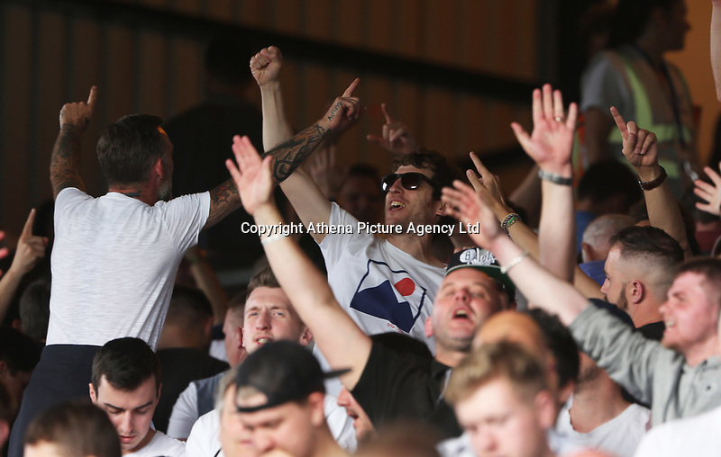 Swansea City fans during the Premier League match between Crystal Palace and Swansea City at Selhurst Park, London, UK. Saturday 26 August 2017