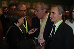LUCI ANNUNZIATA, GAD LERNER E ARTURO PARISI<br /> ASSEMBLEA NAZIONALE PARTITO DEMOCRATICO<br /> FIERA DI ROMA - 2009